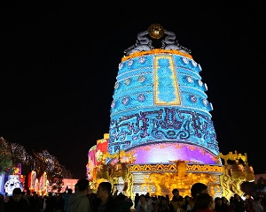The 25th Zigong International Dinosaur Lantern Festival opened during 21st,Jan-21st,Mar