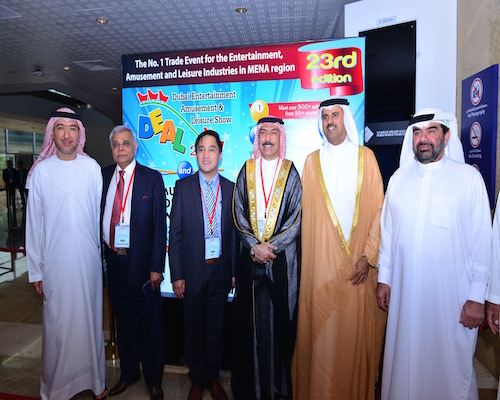 The annual DEAL show is the largest trade show for the theme park and amusement industry in the Middle East.