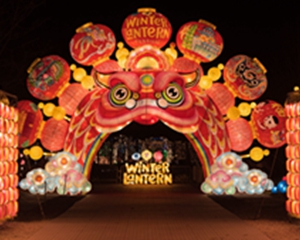 2nd season NYC winter lantern festival