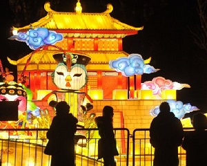 Haitian Culture light up belgrade-serbian during Chinese spring festival in 2019
