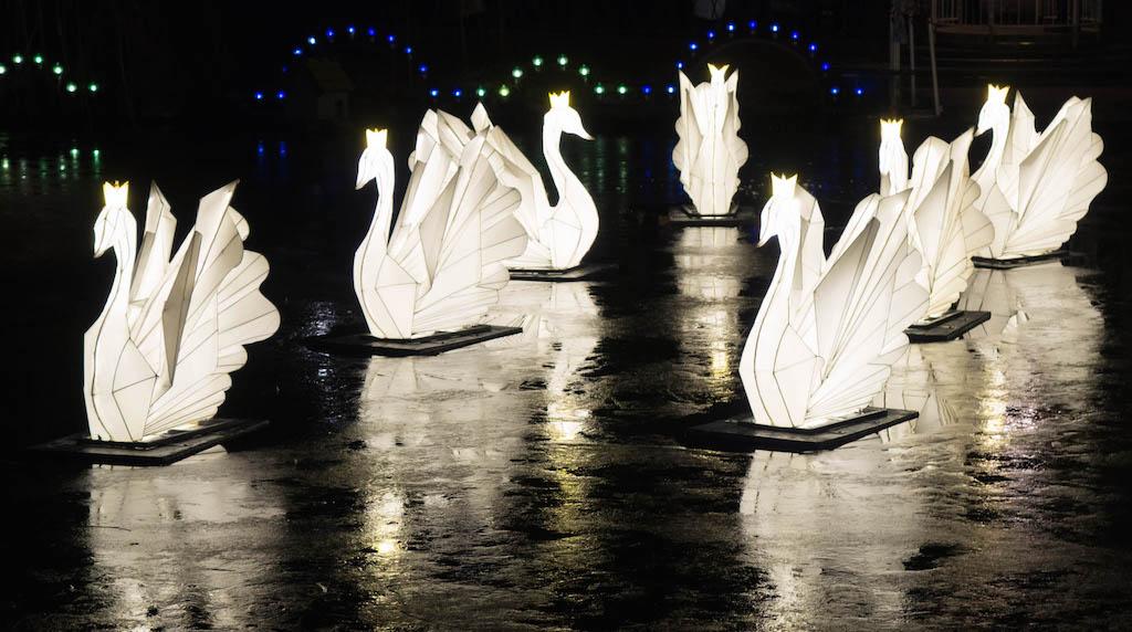 Lights at Tivoli Gardens, Copenhagen