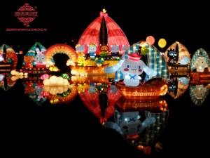Hello Kitty Theme Lantern Festival