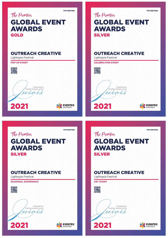 lightopia light festival Global Eventex Awards.png