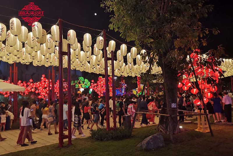Middle Autumn Lantern Festival Show in Vietnam